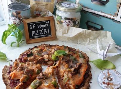 Fresheather's Coconut Flour Pizza