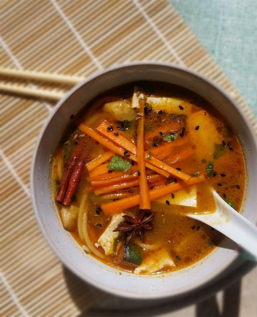 Vegetarian Pho (Vietnamese Noodle Soup) Recipe — Dishmaps