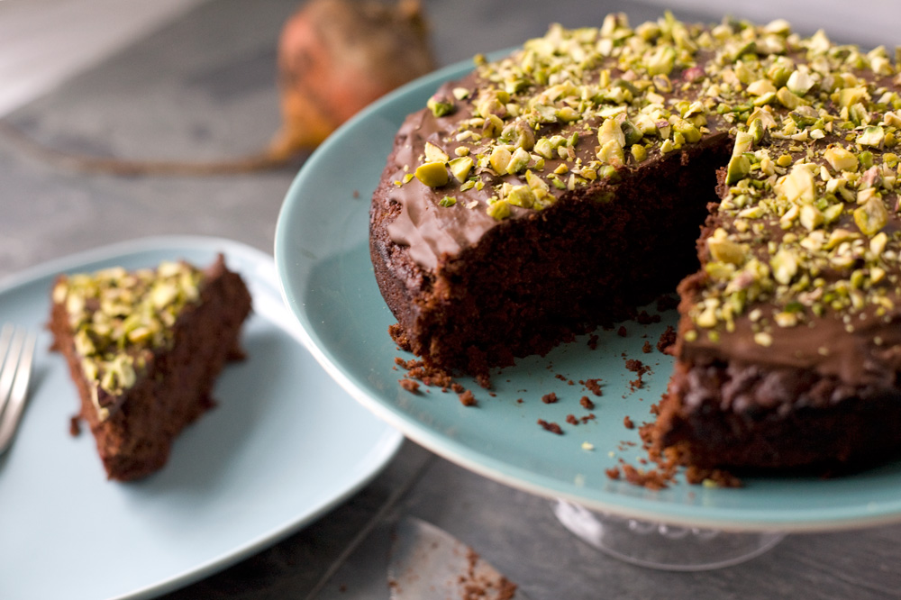 Chocolate Beetroot And Carrot Cake