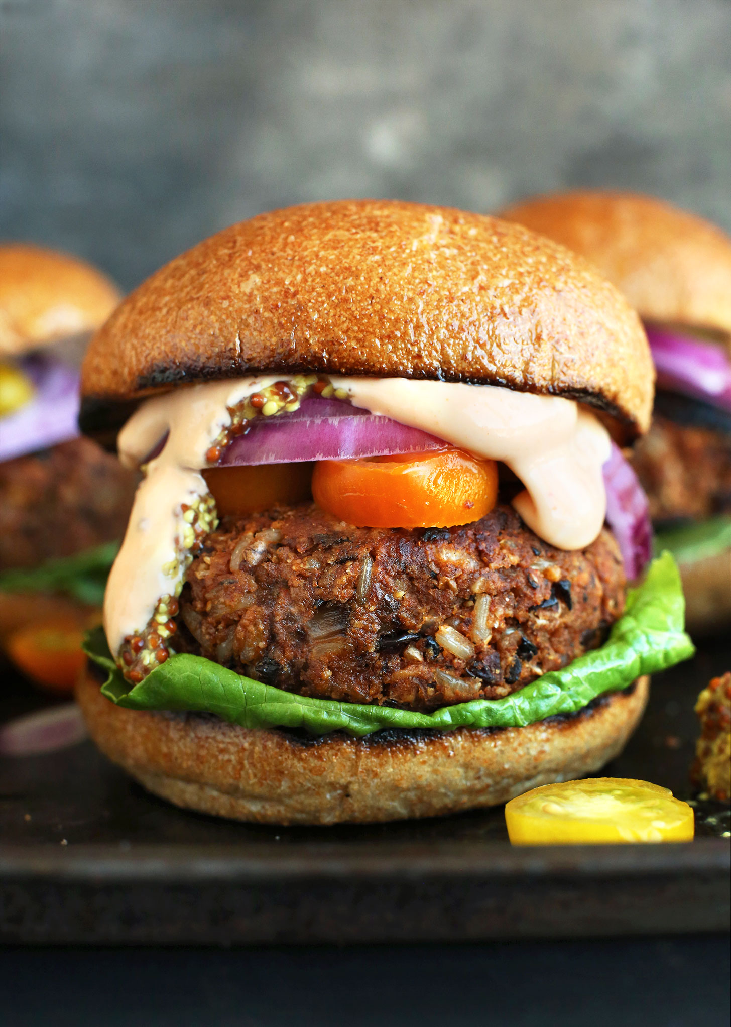 AMAZING-GRILLABLE-Veggie-Burgers-Hearty-flavorful-and-hold-up-on-the-grill-or-skillet-vegan-veggieburger-grilling-dinner-healthy-recipe