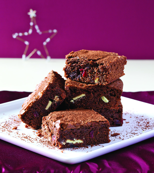 cranberry brownies