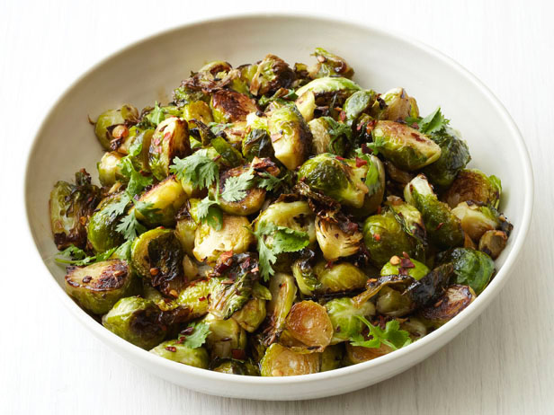Roasted Brussel Sprouts with Bacon and Chestnuts | Free-From Heaven
