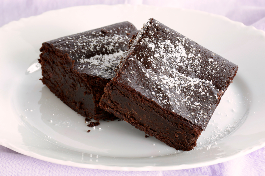 how to make flourless brownies