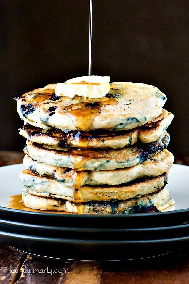 Blueberry-Buttermilk-Pancakes-638x960