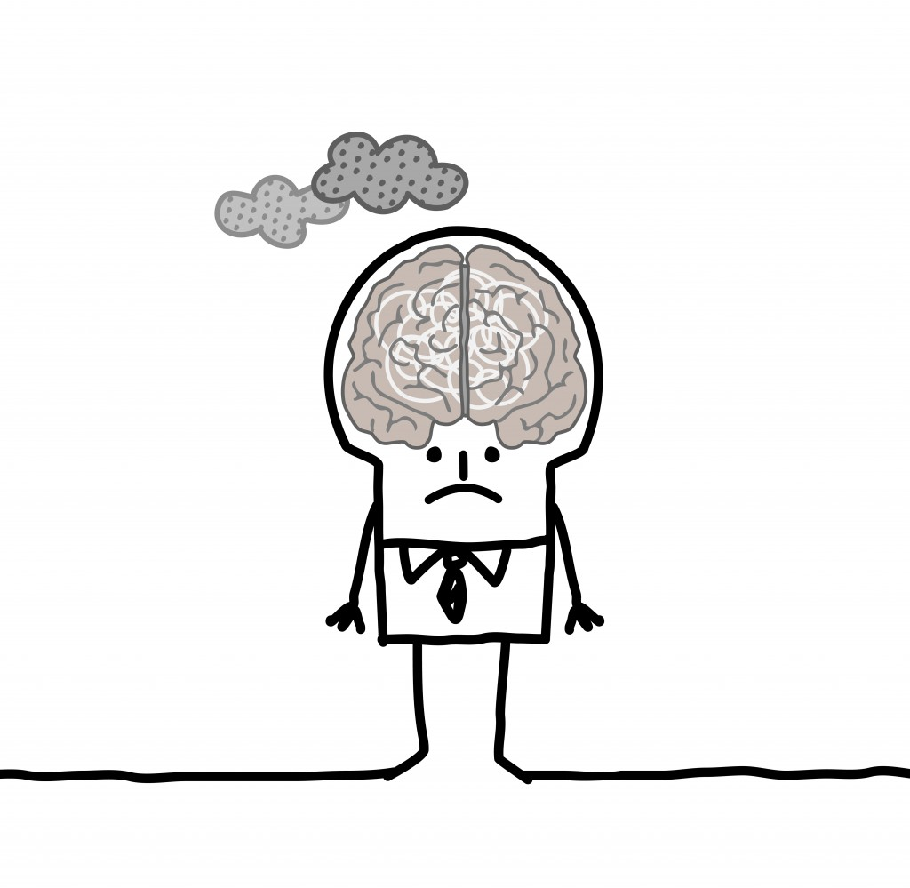 big brain man & pollution