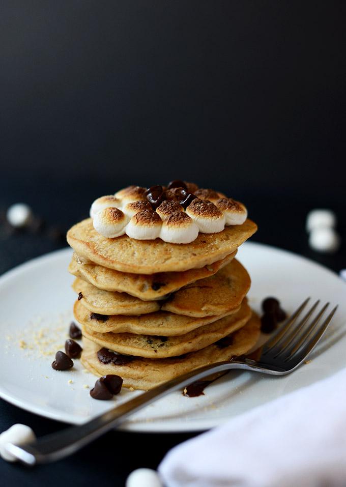 Smores-Pancakes