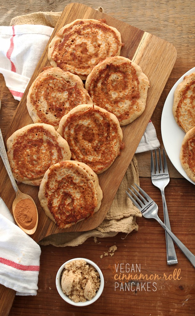 Vegan-Cinnamon-Roll-Pancakes-minimalistbaker.com-Whole-grain-1-bowl-required-and-SO-delicious
