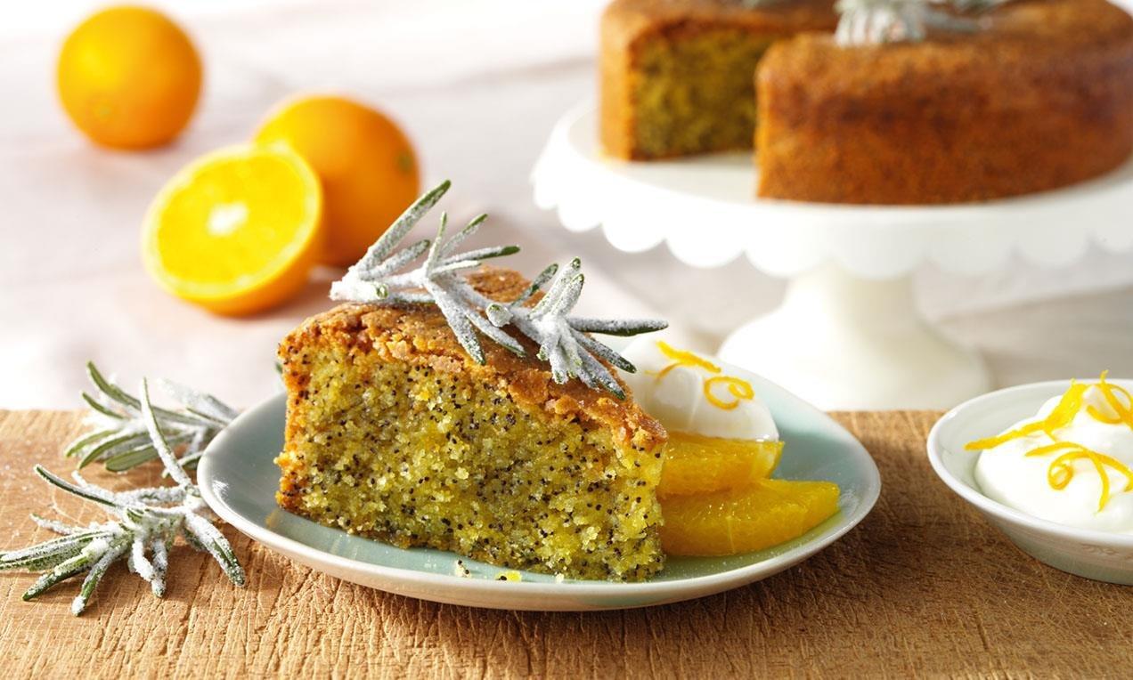 Olive Oil Polenta Cake Gluten Free