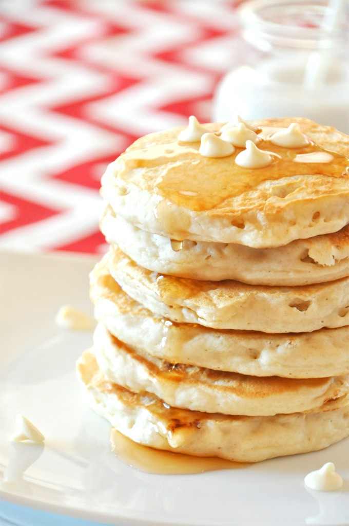 Chocolate Macadamia Nut Pancake Recipe