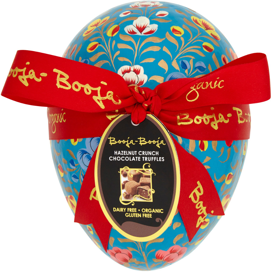 Discover the most deliciously dairy free easter chocolates on the booja booja hazelnut truffle easter eggs negle Images