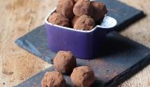 orange and ginger truffles