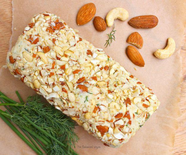 garlic-herb-nut-cheese