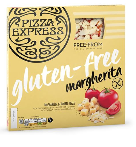 Pizza Express Launches Gluten Free Pizza In Sainsburys
