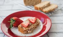 Clean eating oat bread.