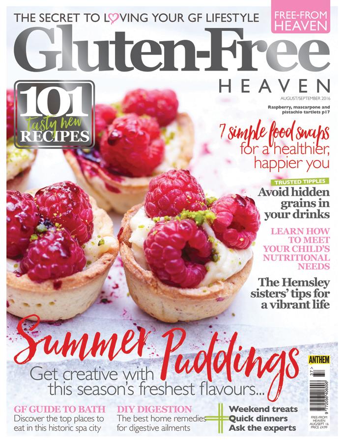 Gluten-Free Heaven August/September 2016