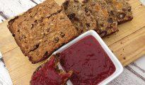 Gluten-free fruit loaf