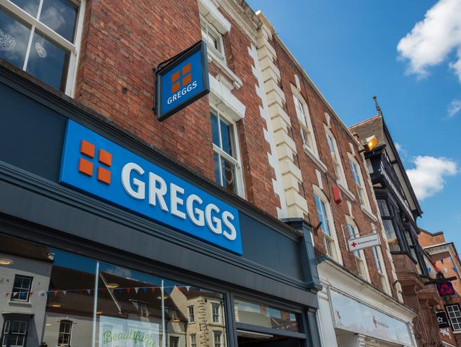 greggs gluten-free