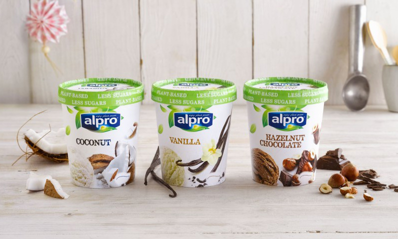Alpro Launch New Range Of Dairy Free Ice Creams In Tesco