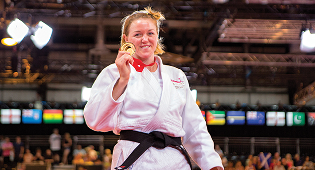 Judo champ Megan Fletcher tells us how her free-from diet meets her training needs...