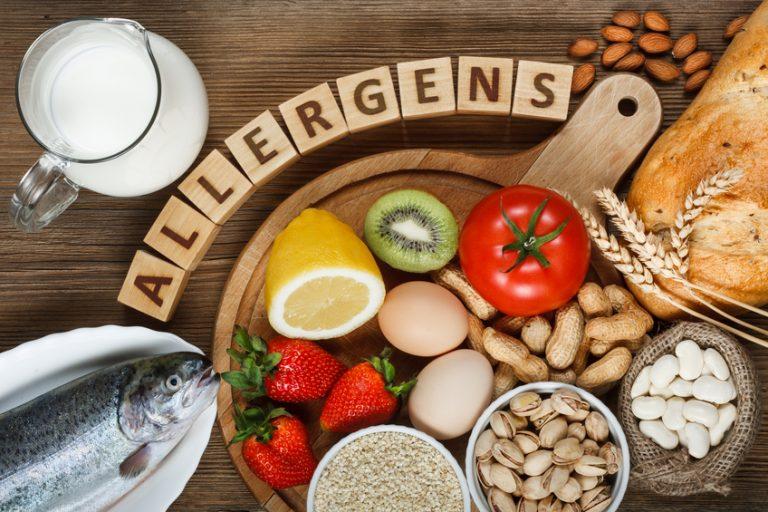 Food allergies in adults symptoms