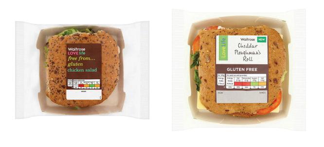 Waitrose Add Two New Gluten Free Sandwiches To Lovelife Range