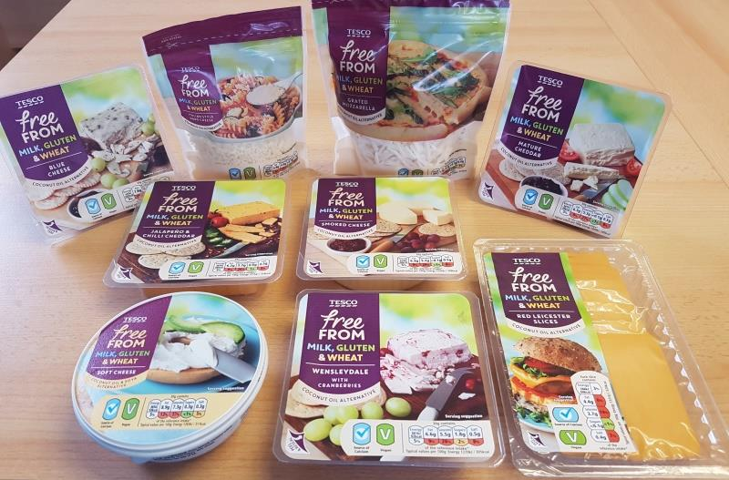 Tesco Launch Their Own Range Of Vegan Cheeses In Stores