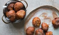 Phil Vickery's sweet gluten-free ricotta doughnut recipe