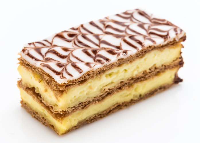 Custard slices vote the number one food on the lust list for gluten-free Brits