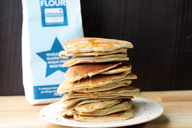 Easy gluten and dairy-free pancakes