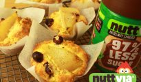Pear & Hazelnut Muffins