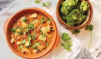 Chicken & Mango Red Thai curry