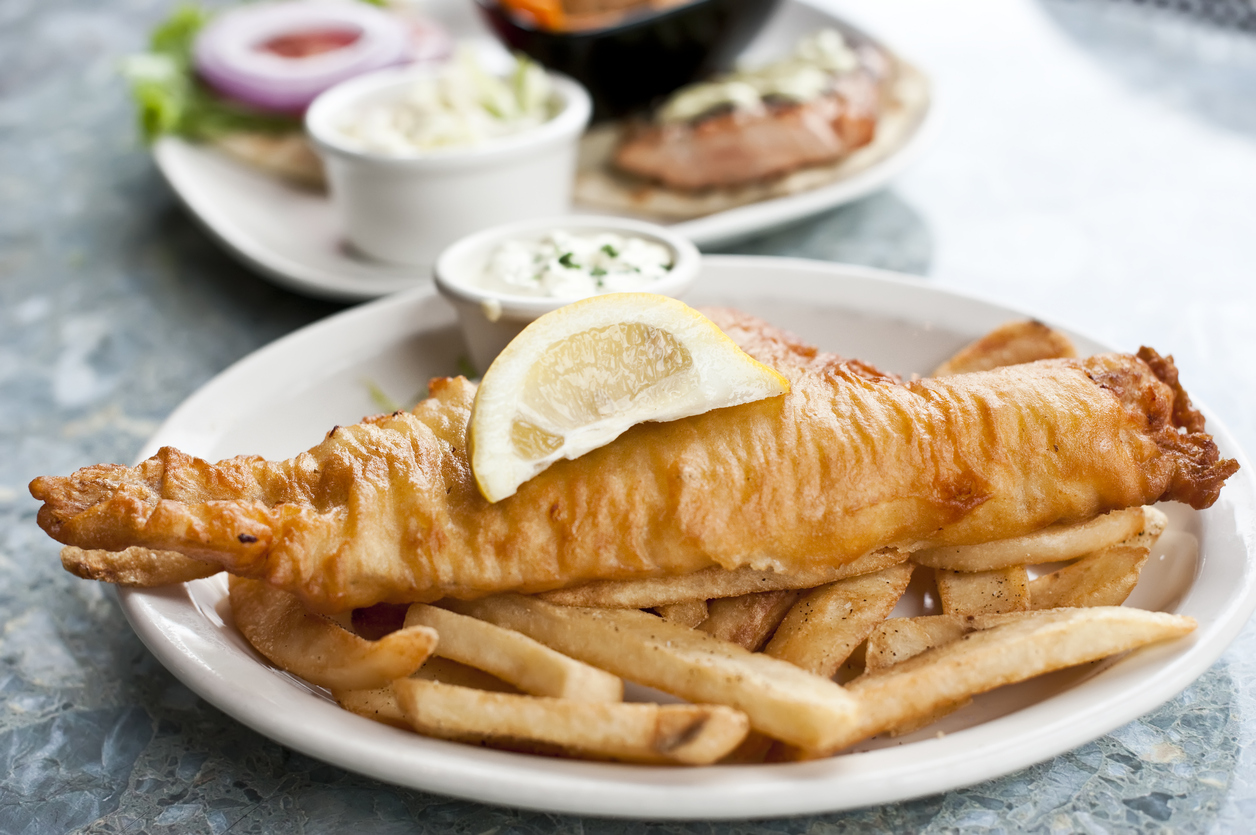 Discover the best places to find Coeliac UK accredited gluten-free fish 'n' chips in the UK