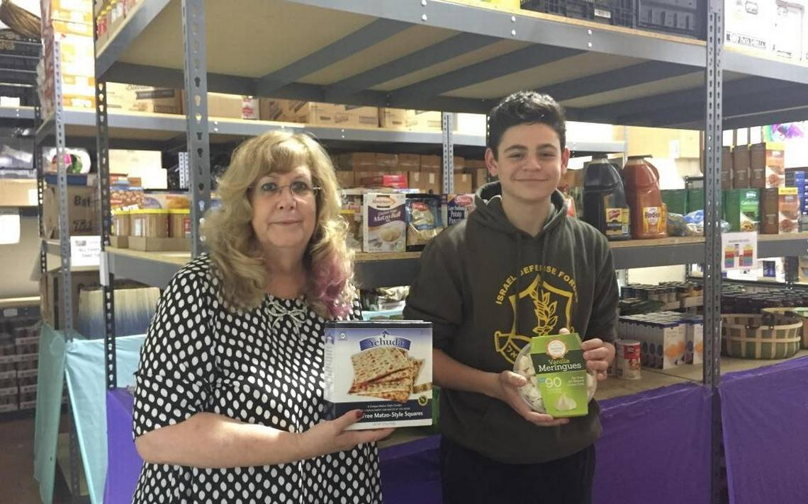 Teen with coeliac disease creates gluten-free food bank