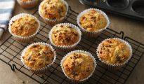 Gluten-free cheese & sundried tomato muffins