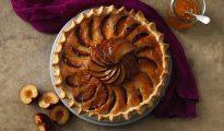 Gluten-Free plum frangipane tart