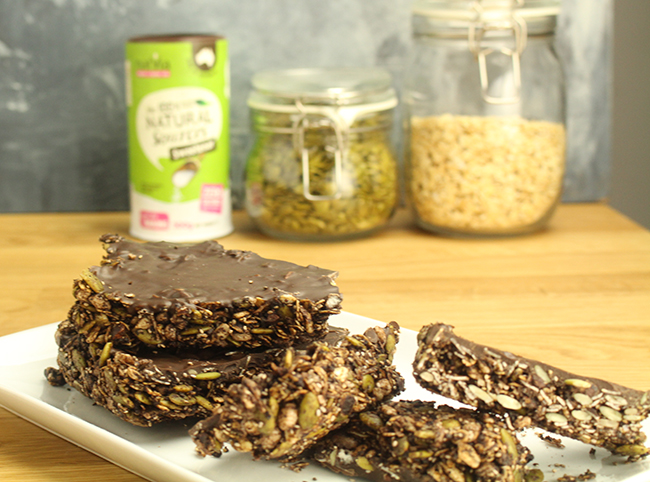 choc crunch bars