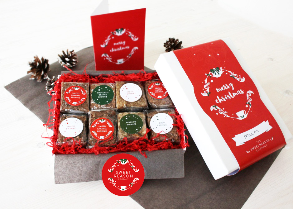 WIN! A luxury gluten-free Christmas gift box from The Sweet Reason Company!