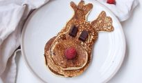 Gluten-free Rudolph pancakes