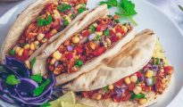 Spicy Mexican Tacos by Nadia's Healthy Kitchen