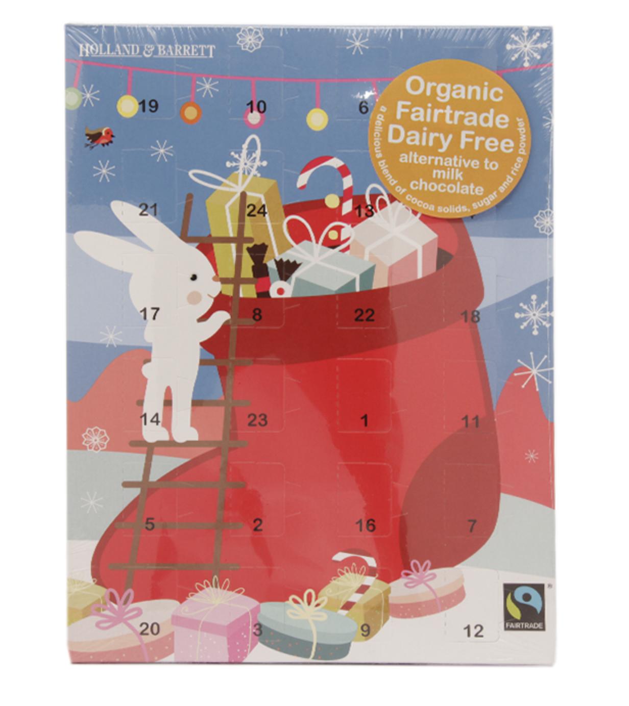 Dairy-free advent calendars