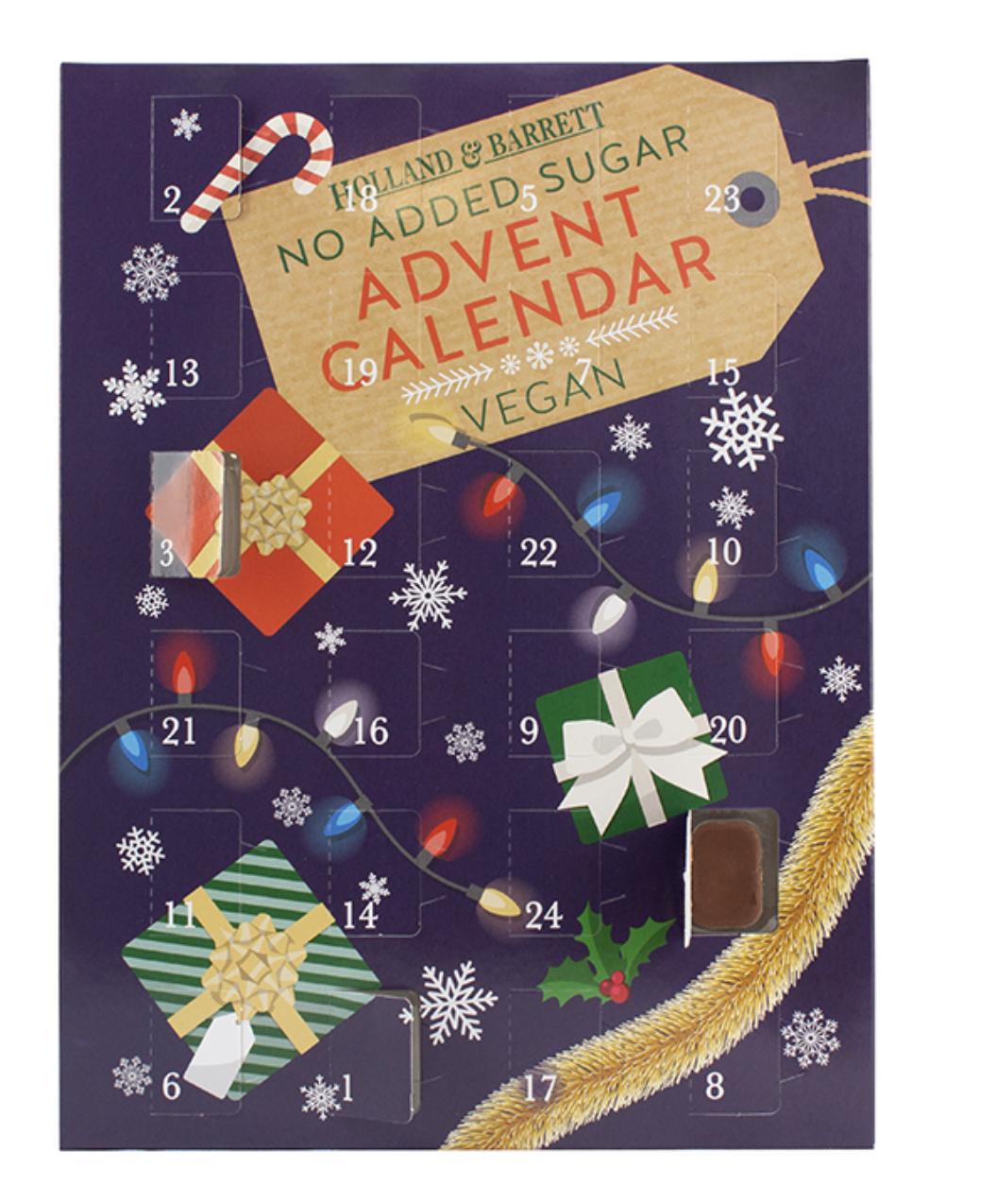 dairy-free advent calendar