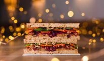 Pret's festive menu is back, and it includes a vegan Christmas sandwich!