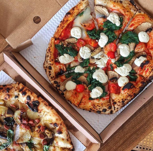 A two-storey vegan pizzeria is opening in London