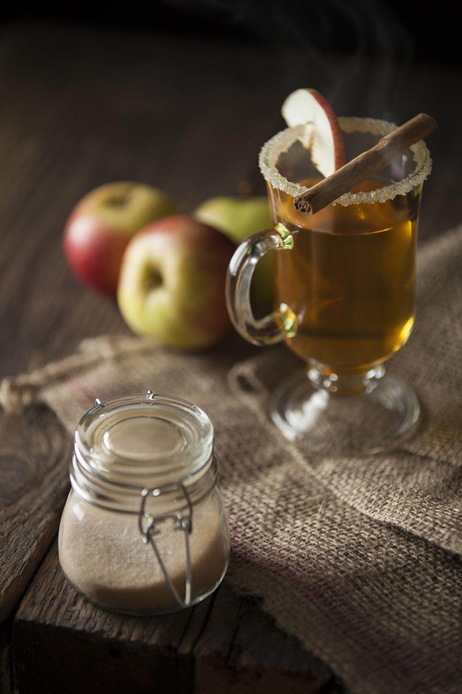 Festive mulled cider