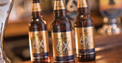 Save 25% on Wadworth 6X Gold gluten-free beer this Christmas