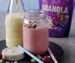 Nobbly yoghurt smoothie