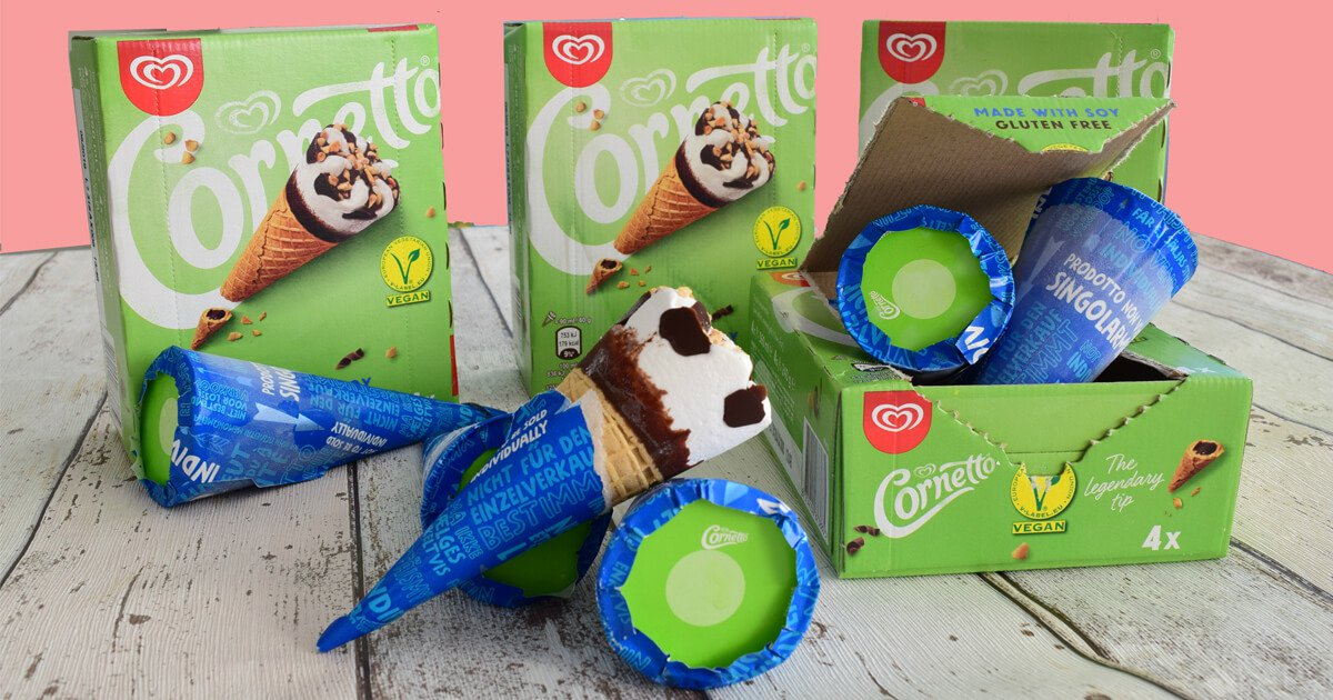 dairy-free cornetto uk