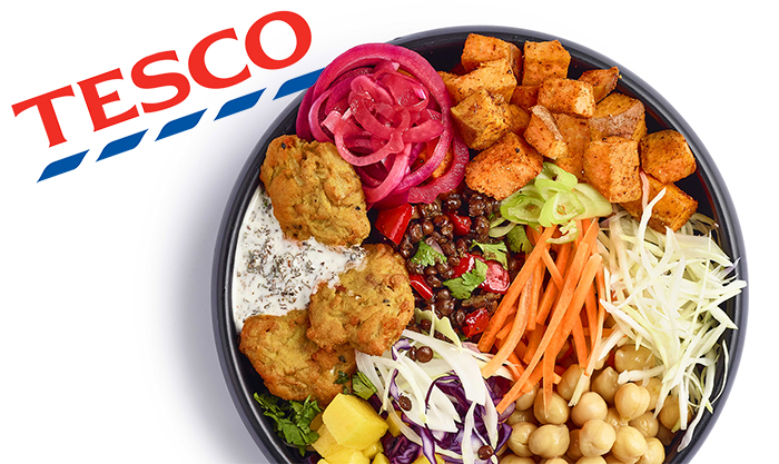 Tesco Launch Huge New Vegan Range Wicked Kitchen With 20
