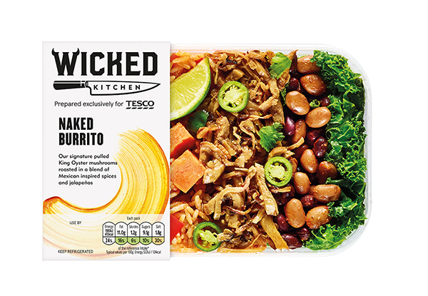 Tesco launch huge new vegan range, 'Wicked Kitchen', with 20 made-to-go meals