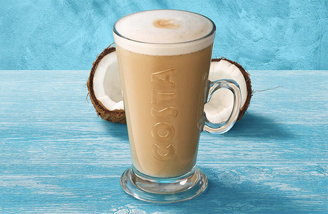 costa coconut milk